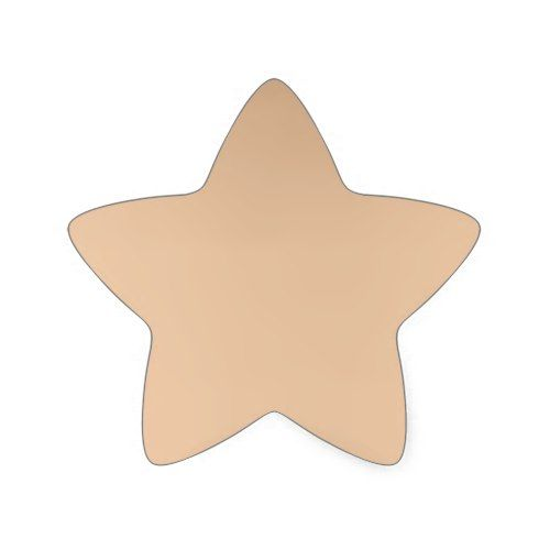 Proud rose Gold star sticker