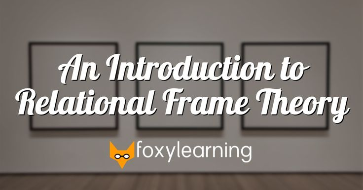 Online tutorial covering the key concepts of Relational Frame Theory (RFT), a behavioral account of human language and cognition. Free Basic Access, $12 for Premium Access, $59 for 6 CEUs for BCBAs.
