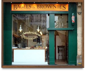 Bagels And Brownies   12, rue Notre-Dame-des-Champs, 75006 Paris   perfect sandwiches for a picnic in the Jardin de Luxembourg