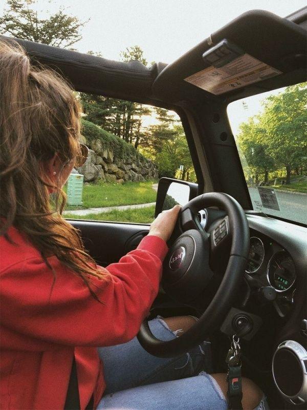Vsco Happinessinpixels Girls Driving Dream Cars Jeep Cute Cars