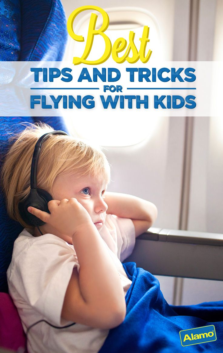Traveling with children can be a challenge, especially on planes. Alamo is here to help! Check out this list of tips for kid-friendly flying to make your family vacation a smooth trip from takeoff to touchdown.