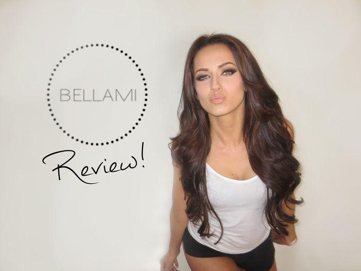 "Hi! All you need to know is down below! ;) Bellami Hair Extensions (20"" 160g - Dark Brown (2) Link below: http://www.bellamihair.com/blogs/before-after/75528..."