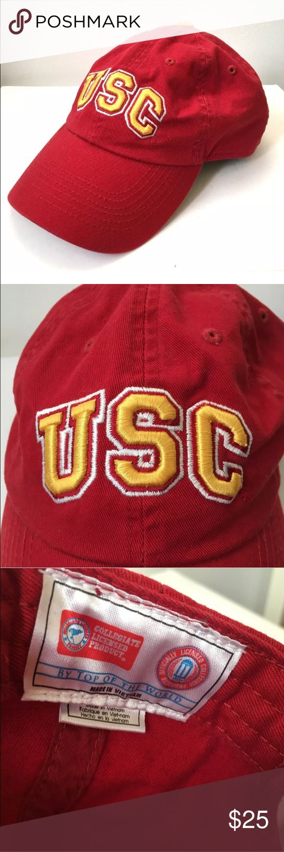 USC college dad hat SnapBack New Excellent like new never worn university of Southern California Trojans Adjustable Snap Back. collegiate  Accessories Hats