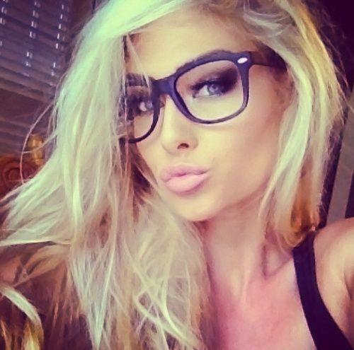 blonde nerd