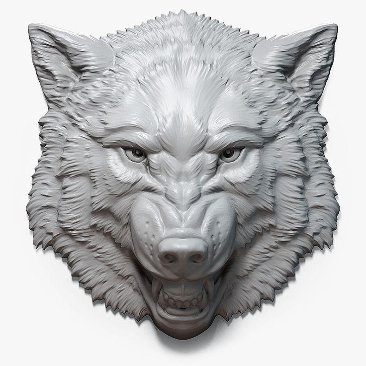 Nejlepších obrázků na pinterestu téma woodcarving wolf