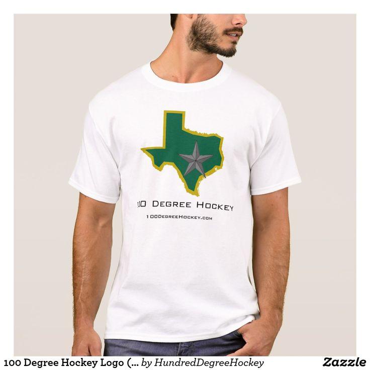 100 Degree Hockey Logo (Light) T-Shirt
