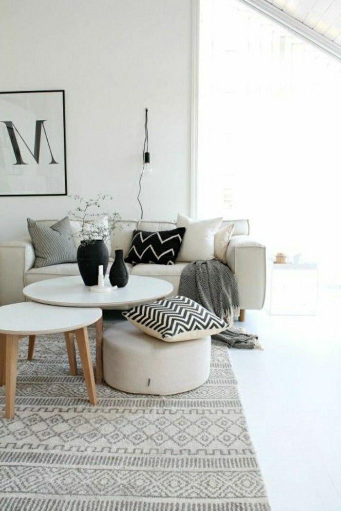 Skandinavisch Einrichten 60 Inneneinrichtung Ideen Fur Skandinavisches Innendesign Inneneinrichtung Ideen Wohnzimmer Design Wohnzimmer Einrichten