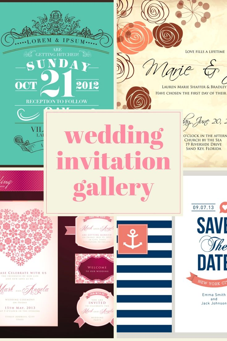 fabulous wedding invitations layout online for your personal