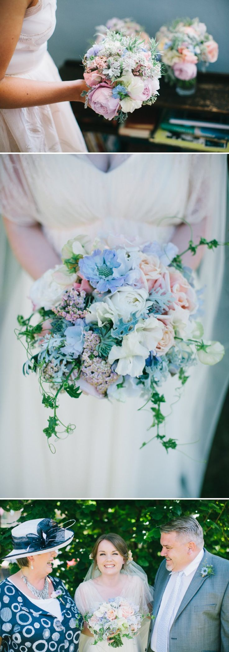 Pretty pastels.  Flowers by Catkin www.catkinflowers.co.uk, images Chris Barber