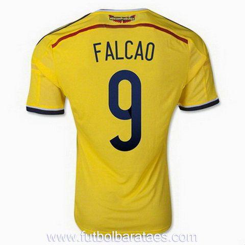 Nueva camiseta de Falcao 1st Colombia 2014-2016 baratas