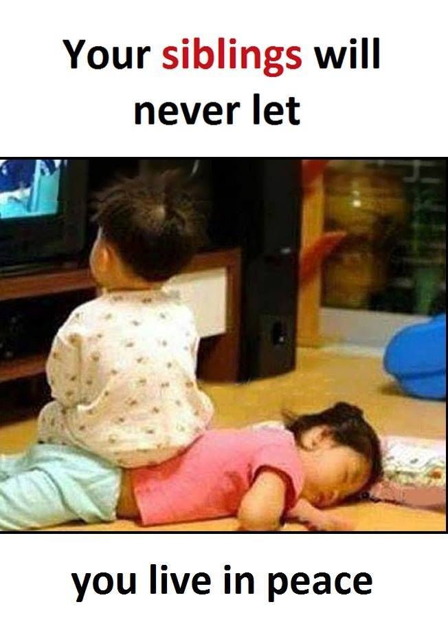 Best Growing Up With Memes Images On Pinterest Siblings - 26 funny photos that prove siblings are the absolute worst