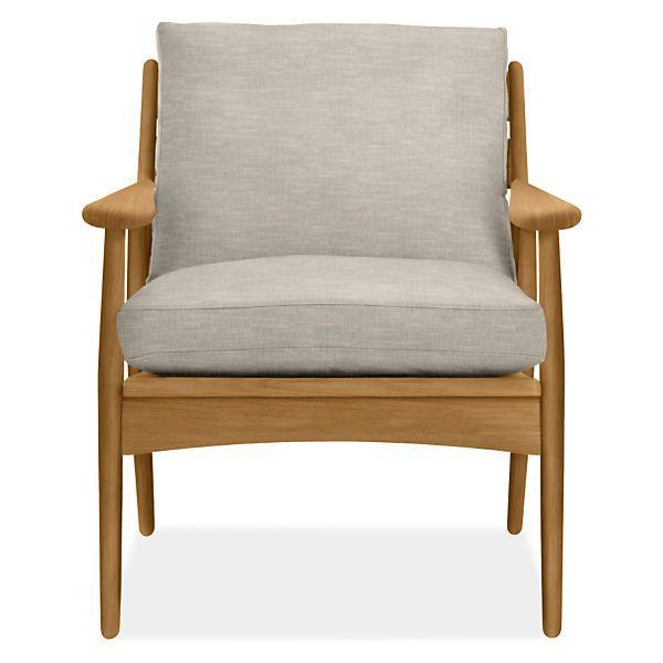 Ericson Lounge Chair Modern Accent Lounge Chairs Modern