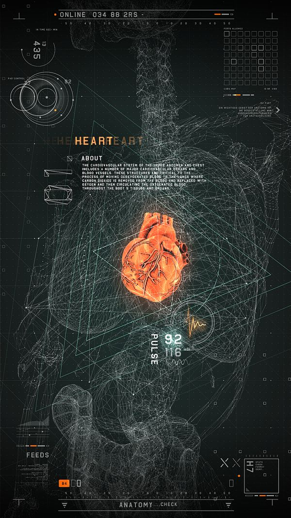 #2RISE FUTURISTIC MEDICAL INTERFACE by 2RISE, via Behance #layout