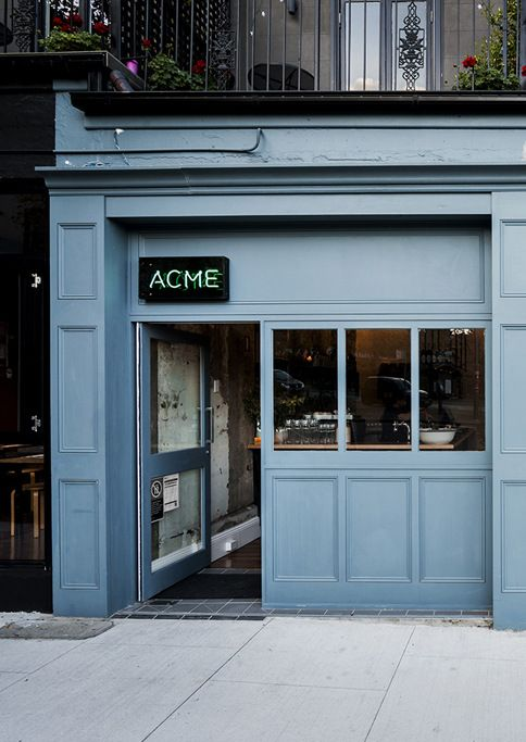 More than just a traditional trattoria or a whisky bar, ACME is a wonderfully hip, low-lit hideaway that serves up modern pasta dishes and cocktails in discreet-chic surrounds. Find more of Sydney's chicest destinations here: http://www.countryroad.com.au/livewithus/crs-chic-sydney-guide-where-fashion-eats-and-sleeps.html