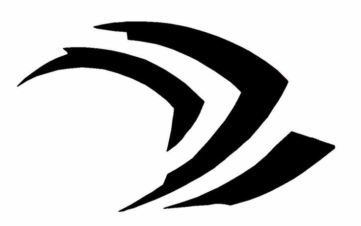 nvidia logo stencils pinterest logos