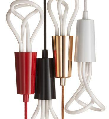 Pendelleuchte Set mit Kabel + Fassungsgehäuse - Plumen