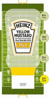 The United Kingdom hosts several NFL fixtures each football season. This year the NFL UK Playbook will feature a roll out by Heinz Yellow Mustard.