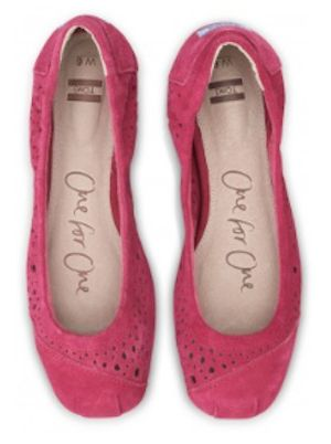 Cute #Toms #Pink Moroccan Cutout Flats http://rstyle.me/~1HXoM