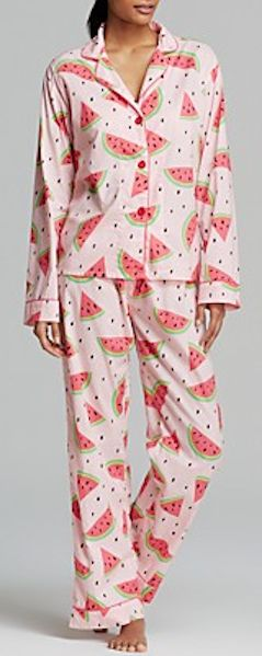 Watermelon pajamas