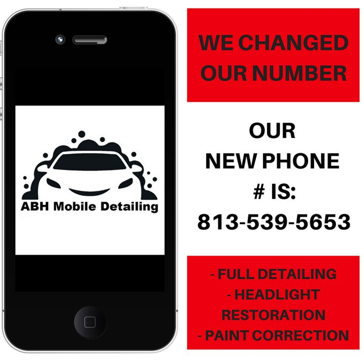 ABH Mobile Detailing's phone number is 813-539-5653. Full Interior and Exterior Detailing, Paint Correction and Headlight Restoration Services. Land O Lakes, Tampa, New Tampa,  Wesley Chapel,
