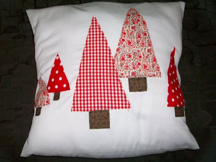 Easy to make Christmas cushion covers
