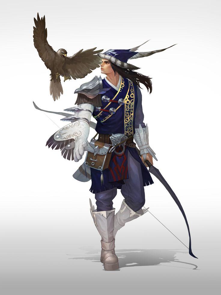 falconer ,hunter