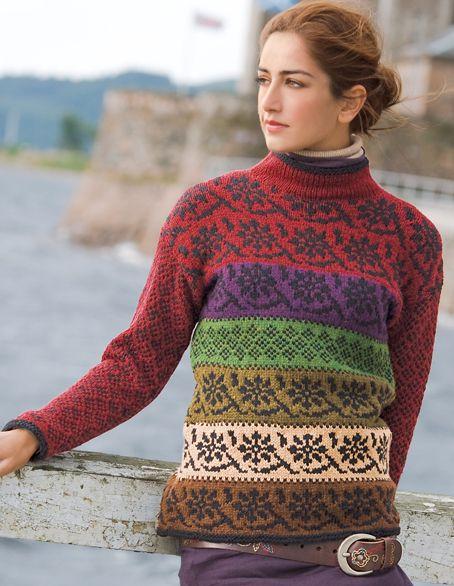 European Knitting Patterns : 32 best images about Verena breien on Pinterest
