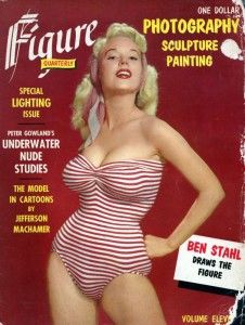 Betty Brosmer gracing the cover of Figure Quarterly- Volume 11. Description from pinterest.com. I searched for this on bing.com/images