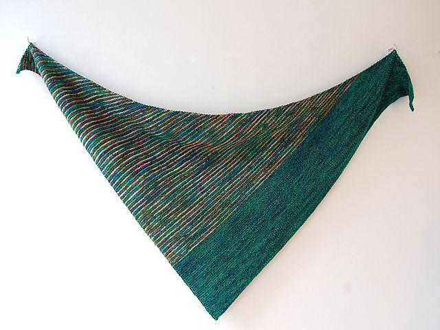 Ravelry: Drea's Shawl pattern by Craig Rosenfeld