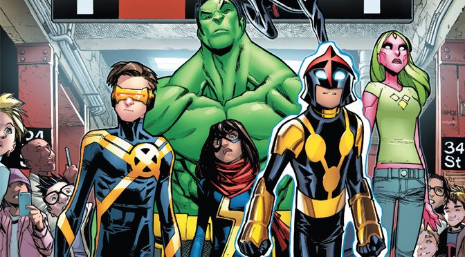 Champions #1 (review)