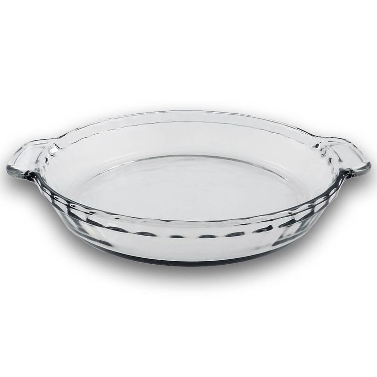 9.5 Inch - Clear Glass Baking Deep Pie Dish Plate ** Visit the image link more details.