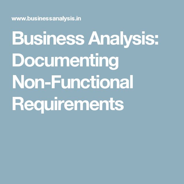 95 best Business Analysis images on Pinterest Business - business requirement documents