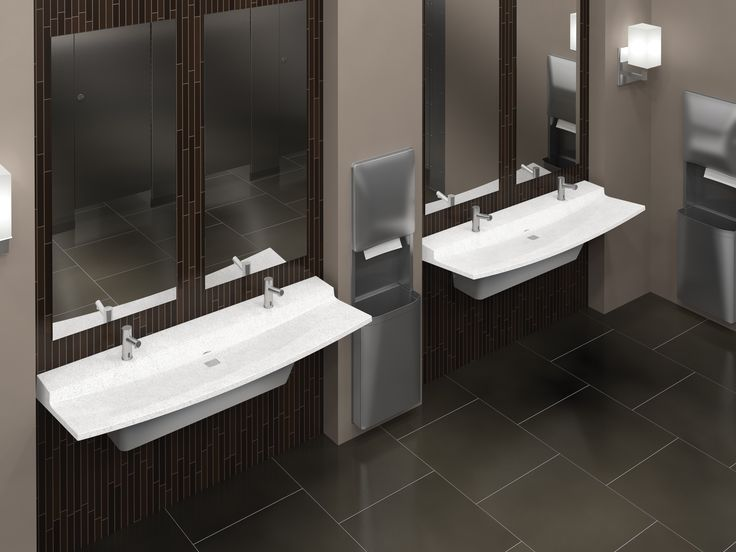 The sleek  rimless design of Bradley s Verge L Series minimizes standing  water. 17 Best images about Innovation Gallery on Pinterest   Milwaukee