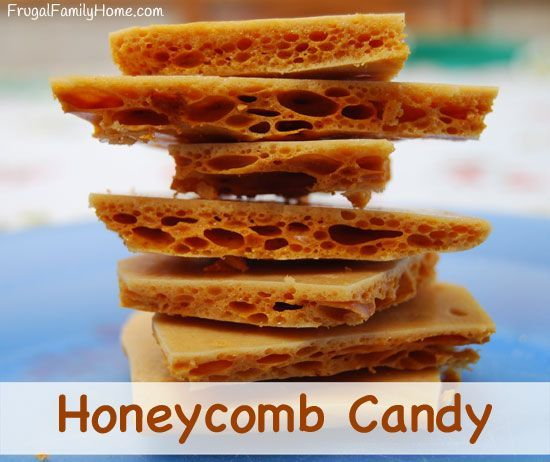A yummy honey candy treat that makes a great food gift too. This recipe is easier to make than you might think. It only takes 4 ingredients too.