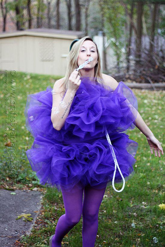 Shower Pouf Costume @amandaformaro Crafts by Amanda