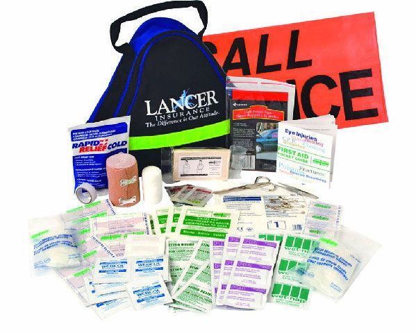 Deluxe First Aid Kit - 106 PIECES - Ideal for offices, schools, home, cottage and for all types of vehicles!