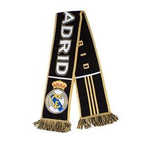 Bufanda 3S negro y oro Adulto Real Madrid 2011-2012. Tienda oficial online Real Madrid CF para España.