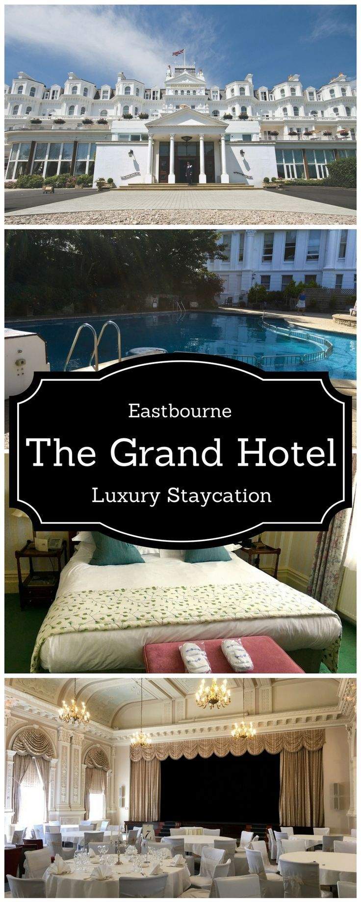 The Grand Hotel, Eastbourne, Quintessential English Seaside Hotel in Eastbourne UK - Luxury Seaside Break