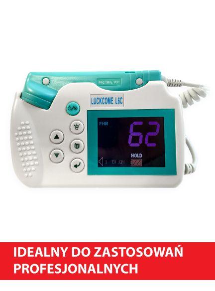 Detektor tętna płodu L6C Wave idealny do zastosowań profesjonalnych.