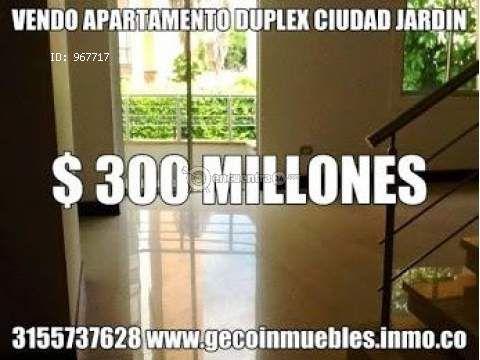Apartamentos Cali | venta | Venta Apartamento Duplex Ciudad Jardin-Cali : 3 habitaciones, 117.22 m2, COP 300000000.00
