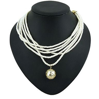 USD $ 10.99 - European Style Fashion Multilayer Pearl Necklace (buy 1 get 2 free gifts), Free Shipping On All Gadgets!