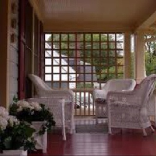 Porches Privacy Screens And Front Porches On Pinterest