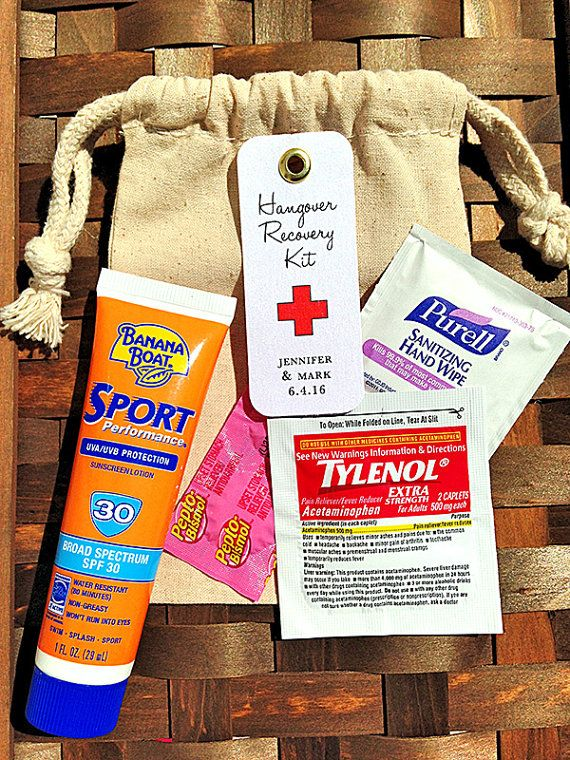 Hangover Kit Tag, Survival Kit Welcome Bags by PoeticTwistDesign. www.poetictwist.com #destinationwedding