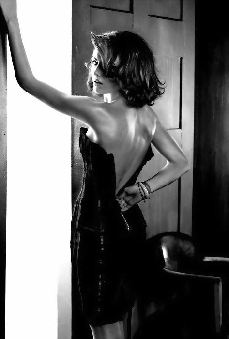 Undressing...