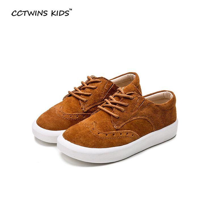 CCTWIN ДЕТИ весна детские оксфорд обуви тапки ребенок натуральная кожа обуви мальчик бренд обуви девушка моды обуви рим черный коричневый F369купить в магазине CCTWINS KIDS StoreнаAliExpress