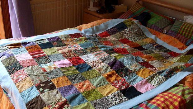 Copriletto patchwork