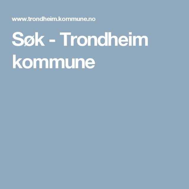 Søk - Trondheim kommune