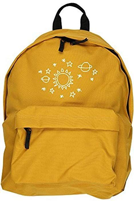 4442132ca6f HippoWarehouse Sun star pattern backpack ruck sack Dimensions  31 x 42 x 21  cm Capacity  18 litres  Amazon.co.uk  Clothing