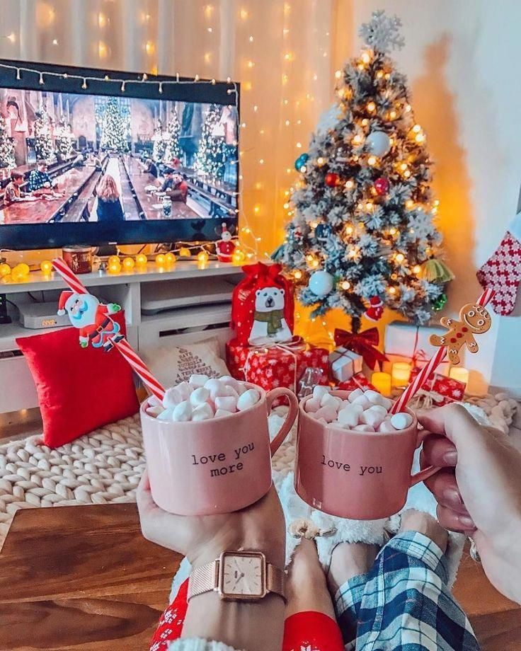100 Beautiful Christmas Table Decorations From Pinterest Beautiful Christmas Decorations Pinterest Christmas Mood Christmas Feeling Christmas Aesthetic
