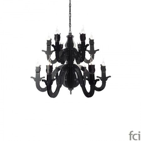 Night Watch NWH95BLM #ChandelierLamp by #BrandVanEgmond. Showroom open 7 days a week.  #fcilondon #furniture_showroom_london #furniture_stores_london #Modern_ChandelierLamp #BrandVanEgmond_furniture #BrandVanEgmond_lighting #Simply_Traditional
